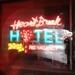 Heartbreak Hotel Neon artwork by Chris Bracey.