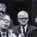 Dennis Hopper Andy Warhol, Henry Geldzahler, David Hockney and Jeff Goodman, 1963 The Hopper Art Trust © Dennis Hopper, courtesy The Hopper Art Trust