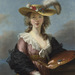 Elisabeth Louise Vigée Le  Brun Self Portrait in a Straw Hat after 1782 The National Gallery, London
