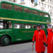 Chelsea Pensioners and a Green Line