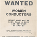 Wanted: women conductors