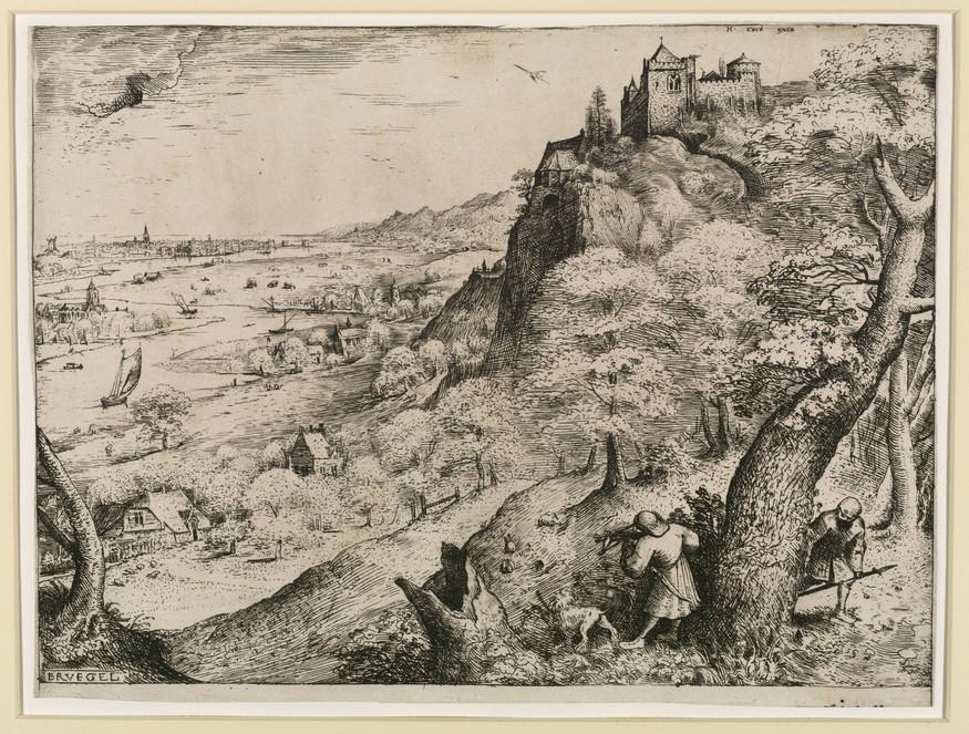 Pieter Bruegel the Elder, 'Rabbit Hunt', 1560