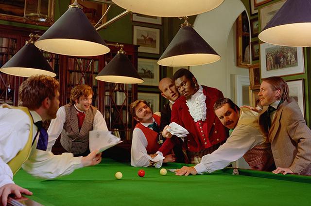 Yinka Shonibare, 'Diary of a Victorian Dandy: 17.00 hours', 1998