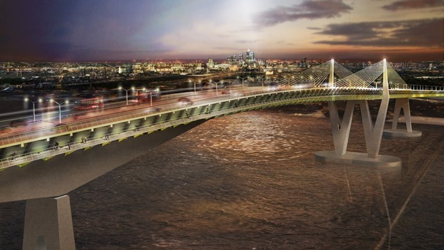 Images Released For Proposed Thames Crossing At Gallions Reach