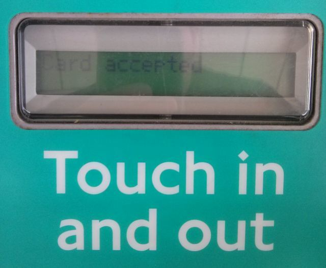Tube Contactless Trial: How's It Going?