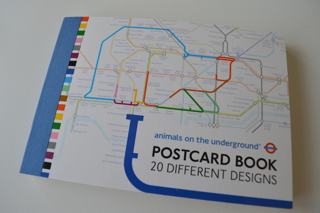 Get Your Animals On The Underground Stationery
