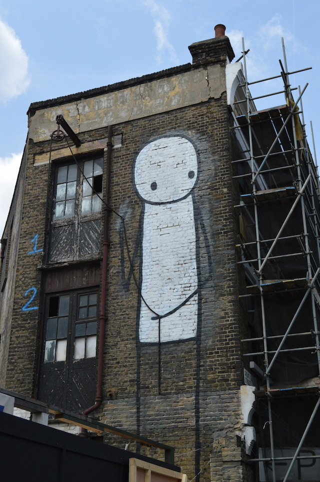 One of the most famous pieces by Stik.
