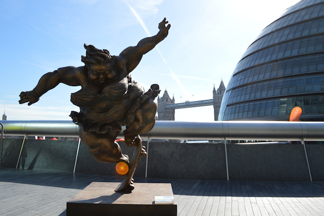 Chubby Charms Of Xu Hongfei Near Tower Bridge