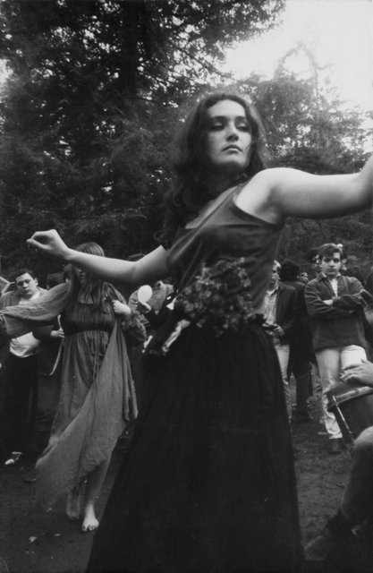 Dennis Hopper Untitled (Hippie Girl Dancing), 1967 The Hopper Art Trust © Dennis Hopper, courtesy The Hopper Art Trust