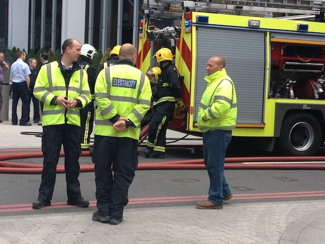 Shard Evacuated In Fire Alert