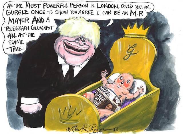 Satirical City: Martin Rowson's London Cartoons