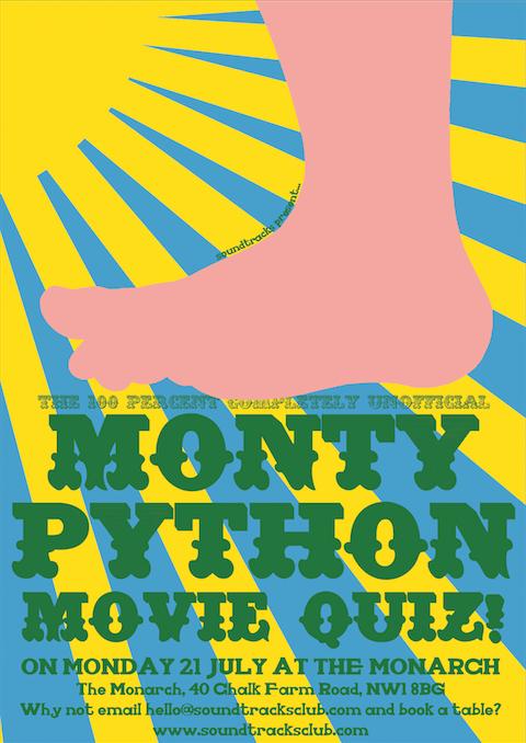 It's...Monty Python's Geeky Pub Quiz