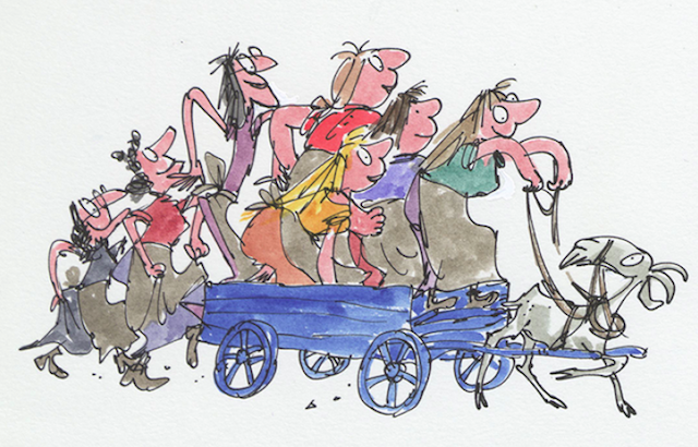 See Quentin Blake's Work At New House Of Illustration