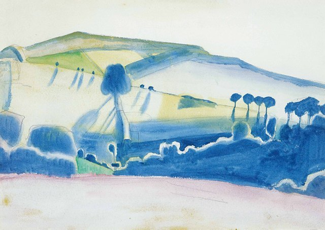 Winifred Nicholson, Tippacott, 1920, Private Collection