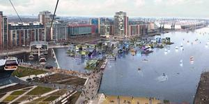 Newham Mayor Attacks Floating Village Plan