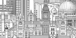 Towers Of London: City's Tallest Buildings In One Lofty Drawing