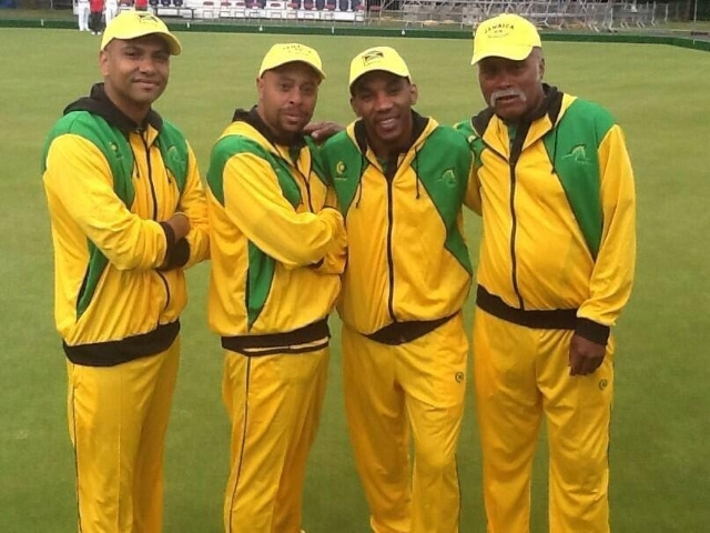 Jamaica Road bowls team