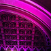Purple-lit Union Chapel in Highbury and Islington, by Zefrog