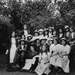 Junior Suffragettes Club in Victoria Park, Norah Smyth. Photo provided by East London Suffragette Festival .