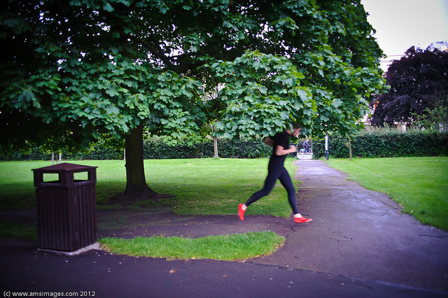 Running in Regents Park, by Andrew Smith