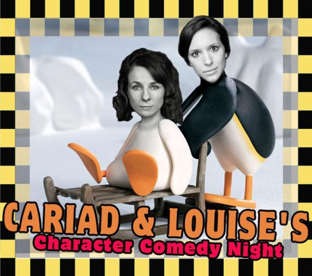 London Comedy: Will Adamsdale, Cariad And Louise, Doc Brown