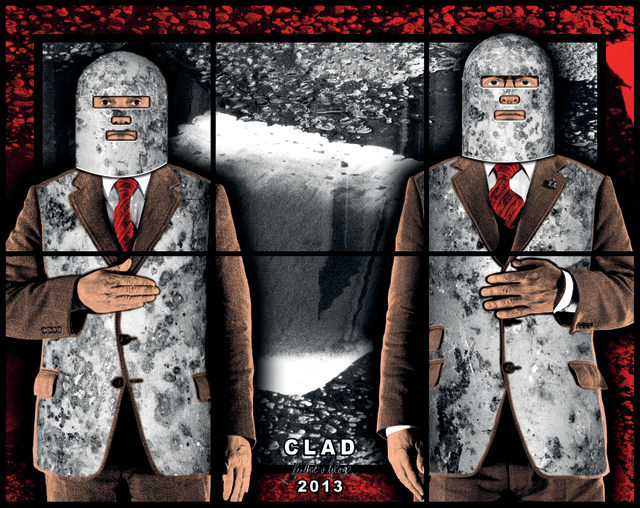 Gilbert And George Create A Scary Picture Of London
