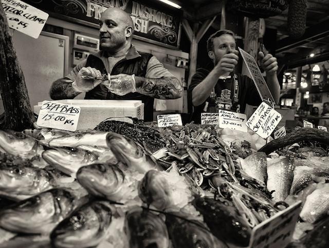 Something fishy, by Simon Cross