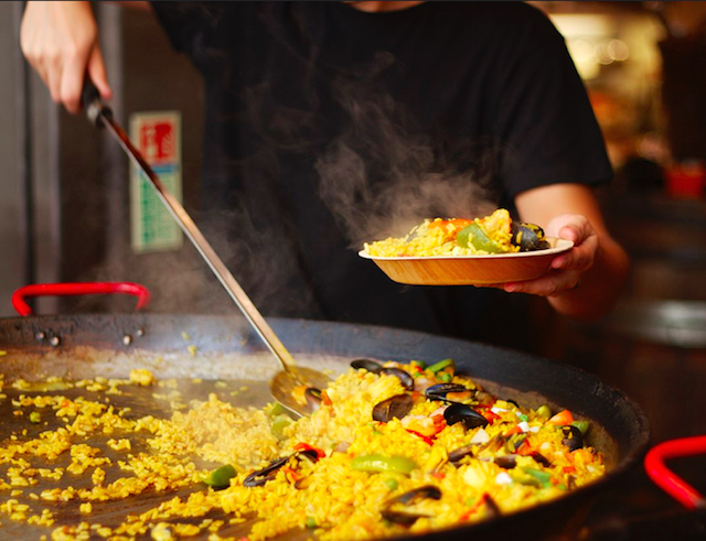 Paella in Greenwich Market, by Rob Emes as part of the 365 Project