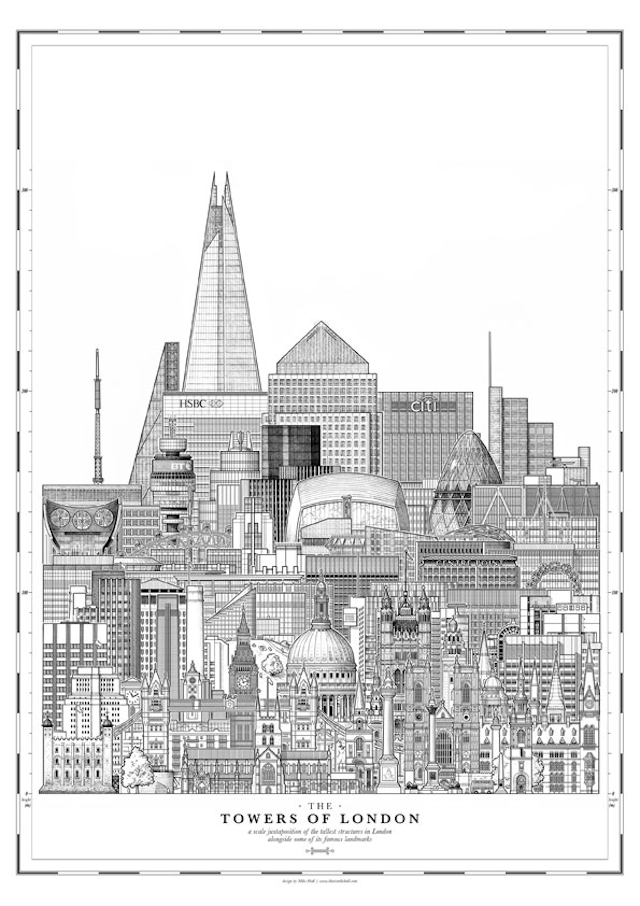 It's An Urban Jungle Out There: Great Images Of London's Skyscrapers