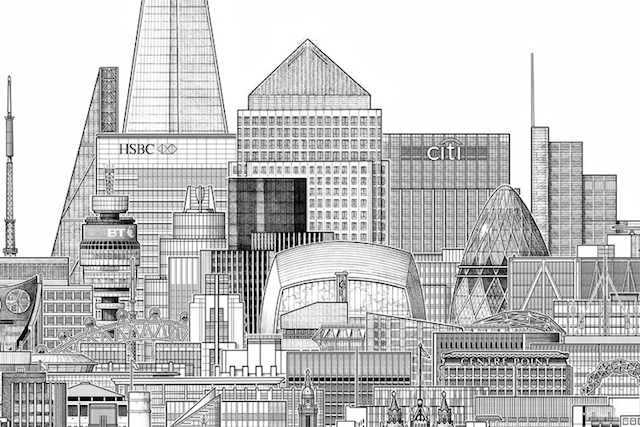 Awesome Images Of London's Tallest Buildings
