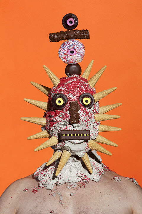 People Covered In Sweets By James Ostrer