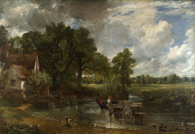 The Hay Wain by John Constable, 1821, oil on canvas. © The National Gallery, London 2014