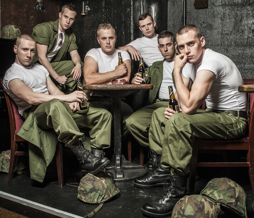 Marines And Misogyny In New Play Dogfight