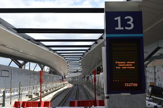 The new-look platform 13.