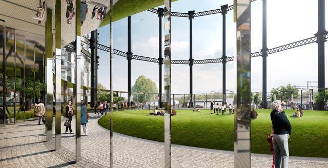 King's Cross Gasholder Park Plans Approved