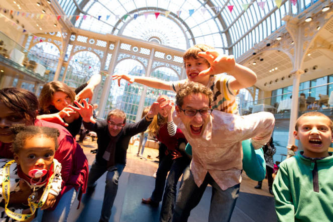 Free Dance And Art At The Royal Opera House