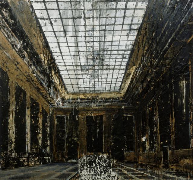 Interior (Innenraum) by Anselm Kiefer, 1981. Amsterdam Photo Collection Stedelijk Museum / copyright Anselm Kiefer