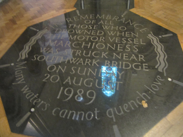 Memorial Service Will Mark 25th Anniversary of Marchioness Disaster