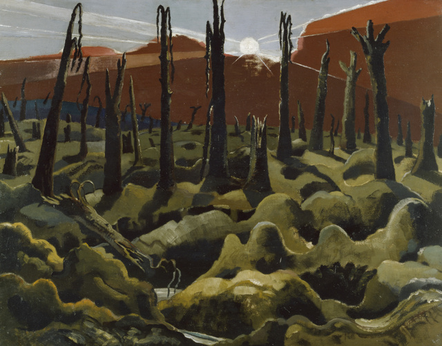 Paul Nash, We are making a new world, 1918. Copyright IWM
