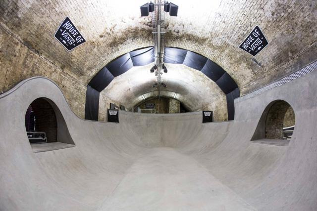 London's First Indoor Skatepark Opens Under Waterloo Station