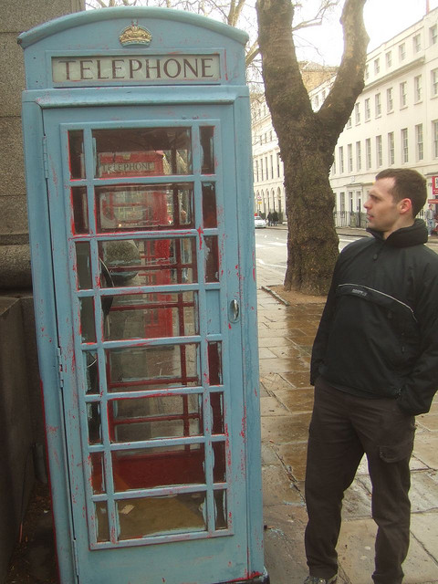 London's Phone Boxes Find Many Odd Uses