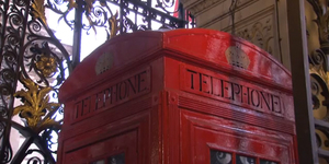 60 Second Video: Phone Box Art Installation
