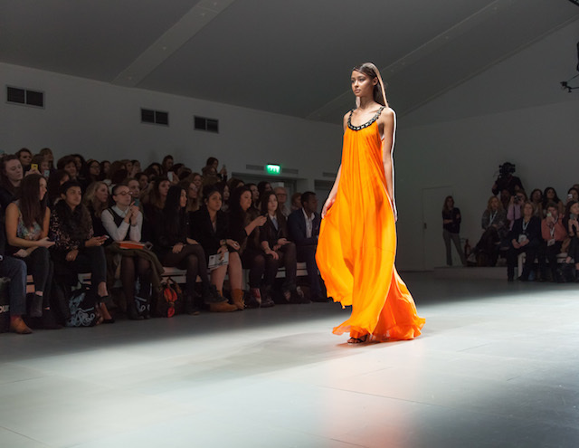 Shopping Meets The Catwalk At Vodafone London Fashion Weekend