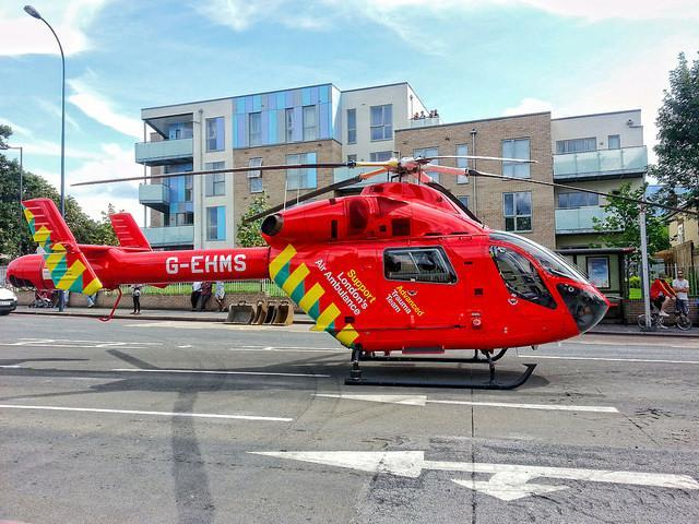 E14 Gets Most Visits From London's Air Ambulance