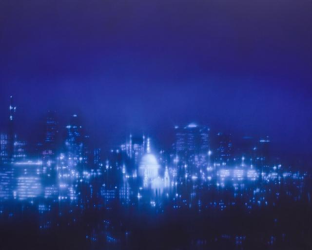 Hazy London Landscapes By Jenny Pockley