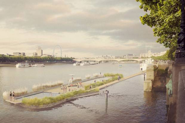 Would You Swim In The River Thames?