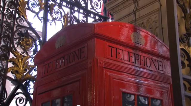 60 Second Video: Phone Box Art Installation