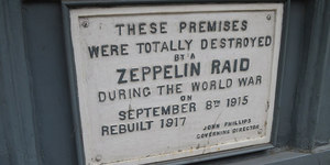 London At War: The First Bombs To Hit Central London