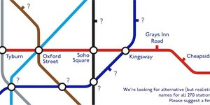 Help Us Create A New Map Of Alternative Tube Names