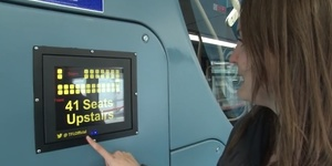 Video: New Bus Technology Spots Available Seats Upstairs